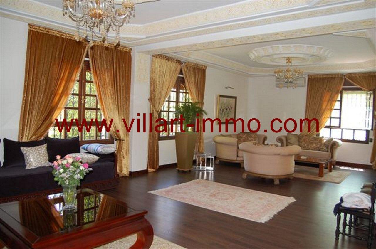 1-Vente-Villa-Tanger-La Montagne-Salon 1-VV235-Villart Immo