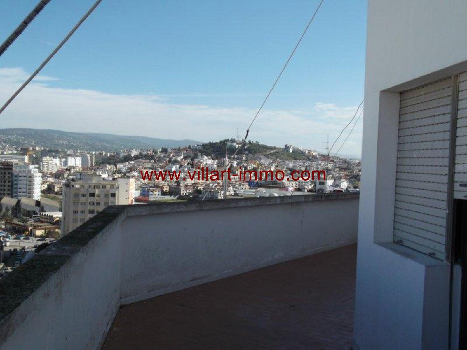 1- Vente -appartement-Tanger-Maroc–Centre-De-Ville-Terrasse 1 -VA91-Villartimmo