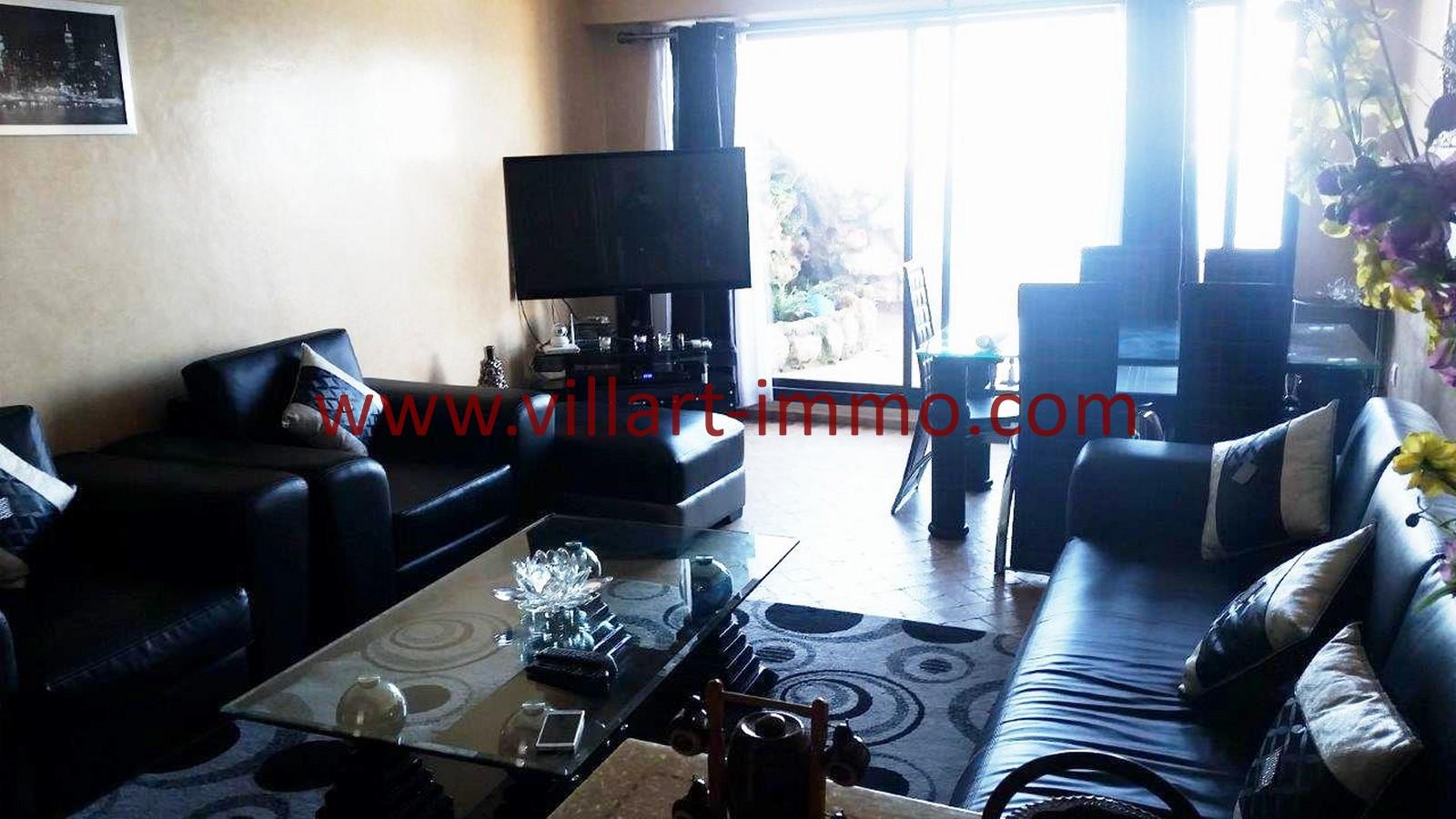 1 Location Tanger Playa Appartement Meublé Salon 1 L1016 ...