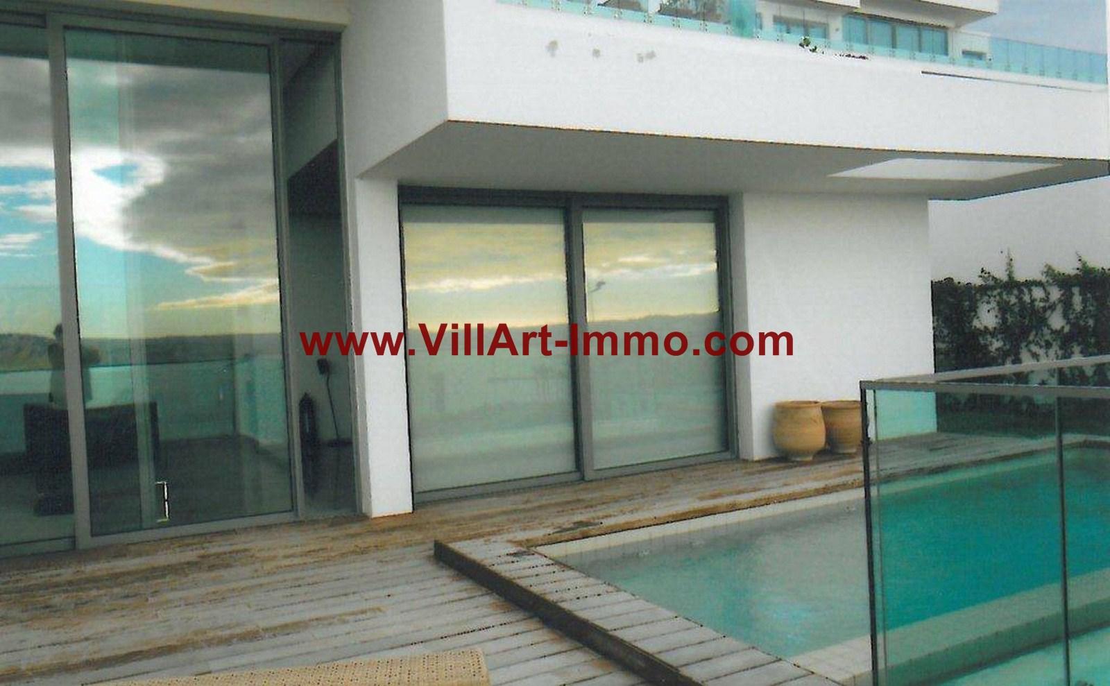 10-Location-Appartement-Meublé-Tanger-Piscine-L749-Villart immo
