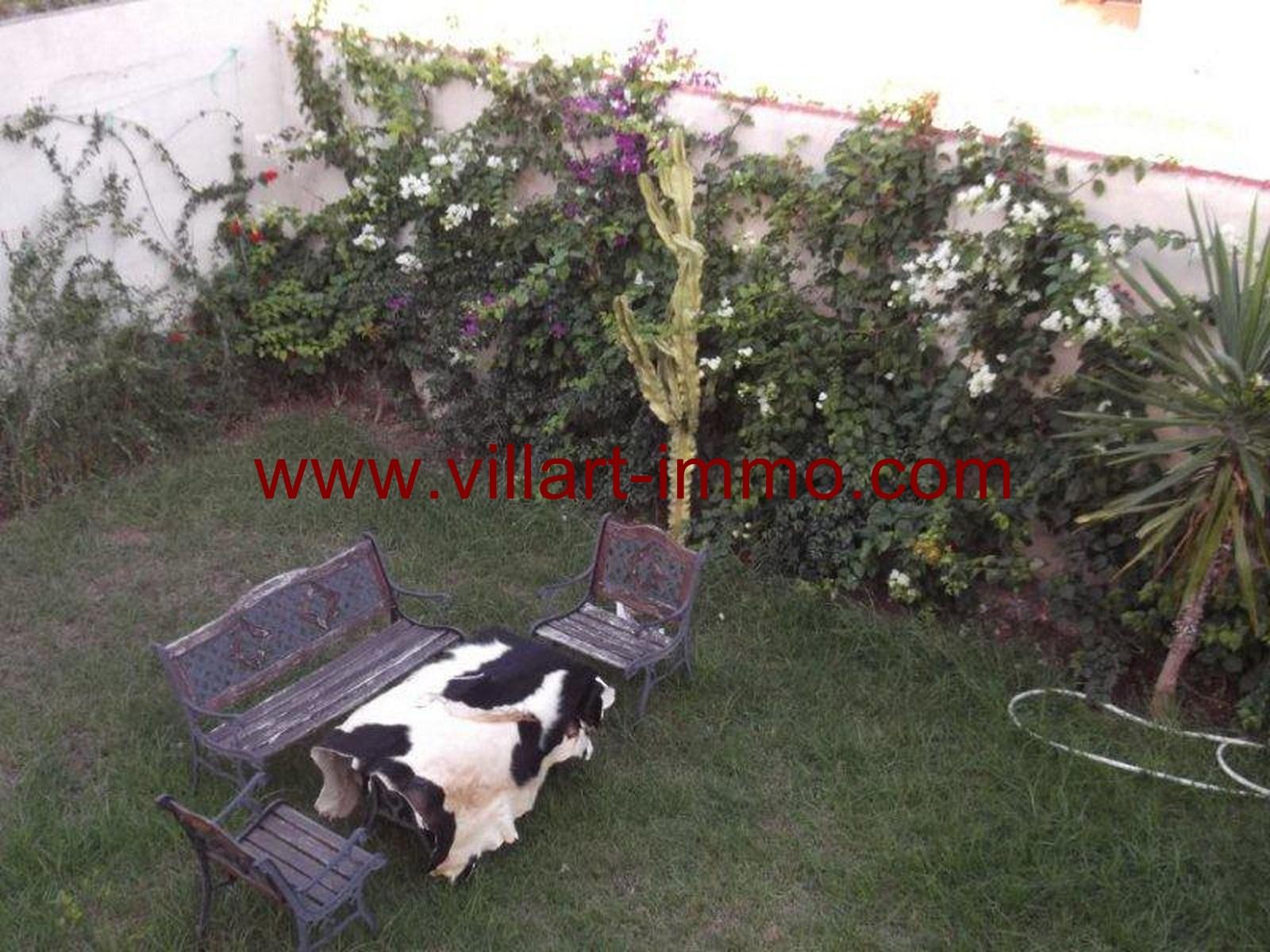 11-Vente-Villa-Tanger-Malabata-Jardin -VV159-Villart Immo