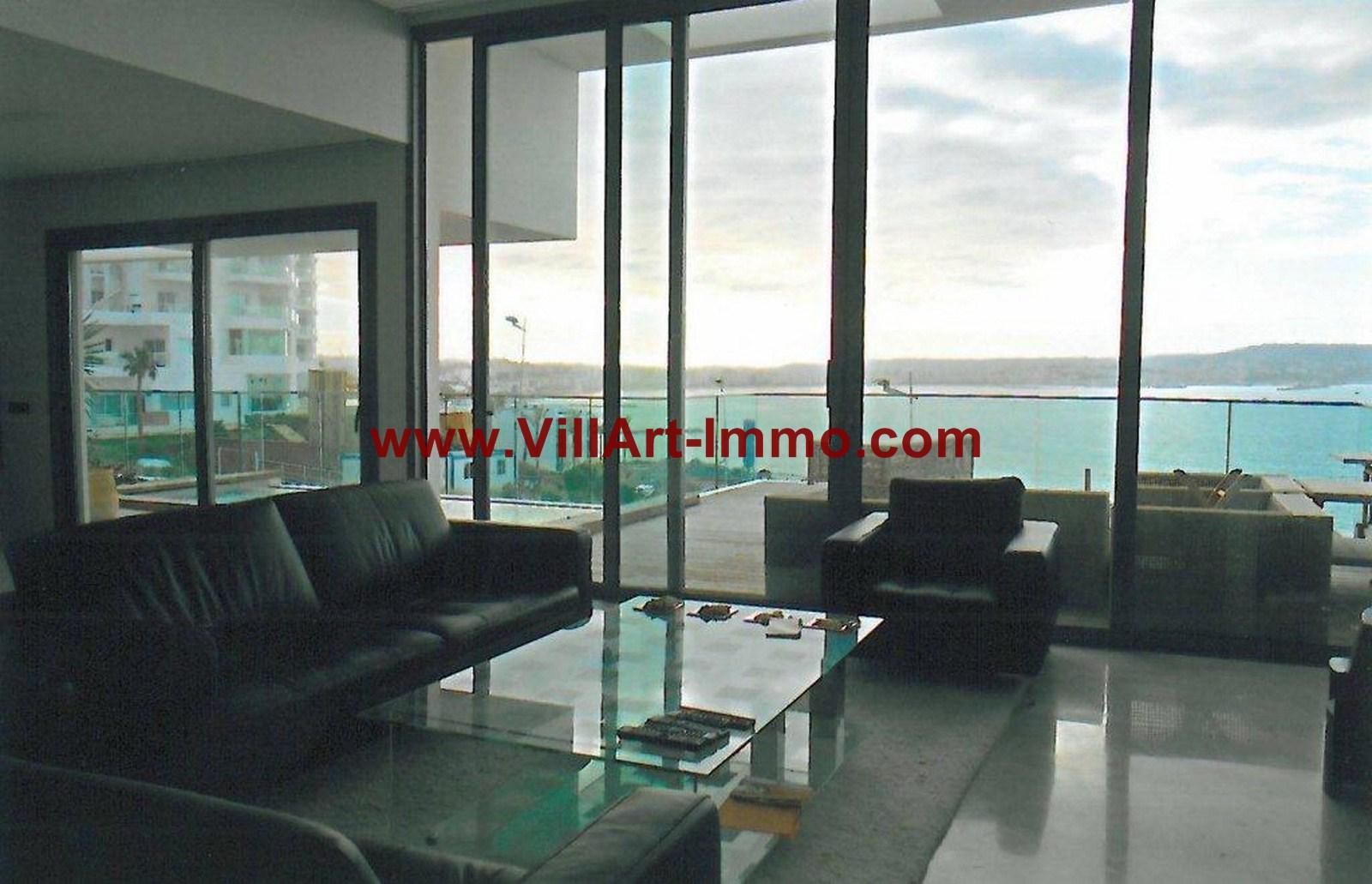 12-Location-Appartement-Meublé-Tanger-Salon-L749-Villart immo