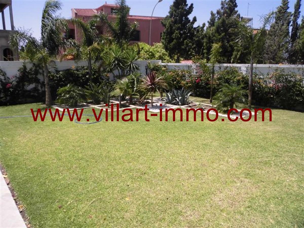 12-Vente-Villa-Tanger-Malabata-Jardin -VV140-Villart Immo