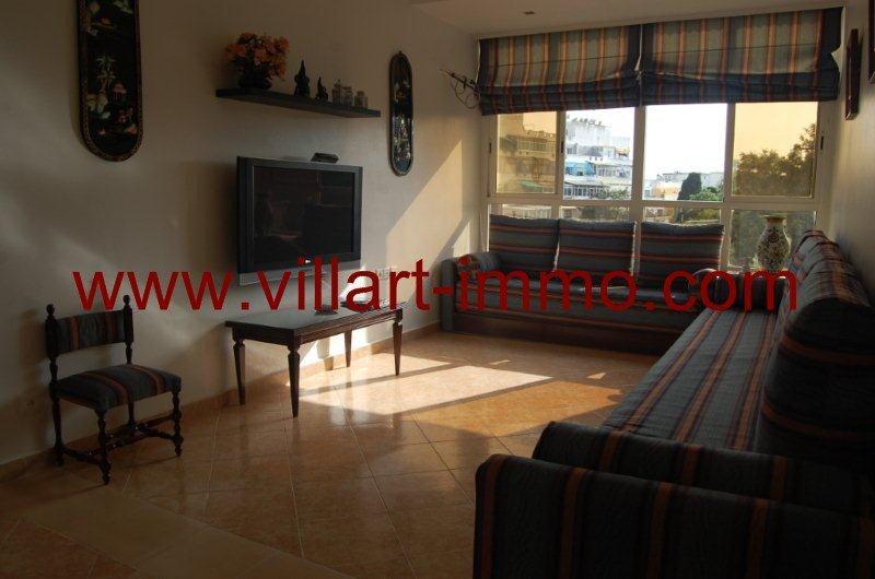 Joli appartement meubl louer au centre ville de tanger villart - Appartement meuble a louer a tanger ...