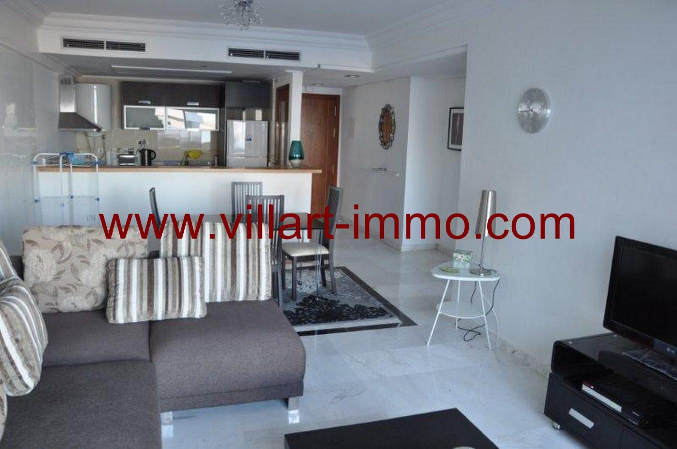 2-Appart-Meublé-Salon2-Tanger-Agence immobilière-Villartimmo