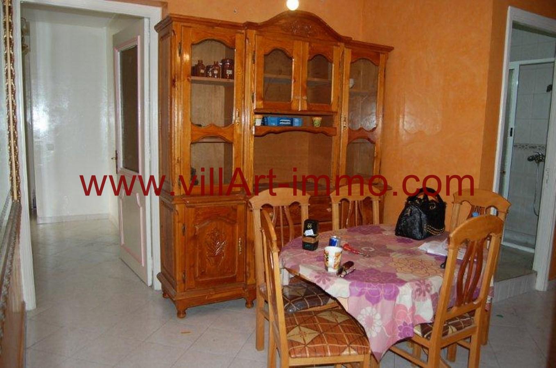 A louer appartement meubl tanger villart for Salle a manger kitea rabat