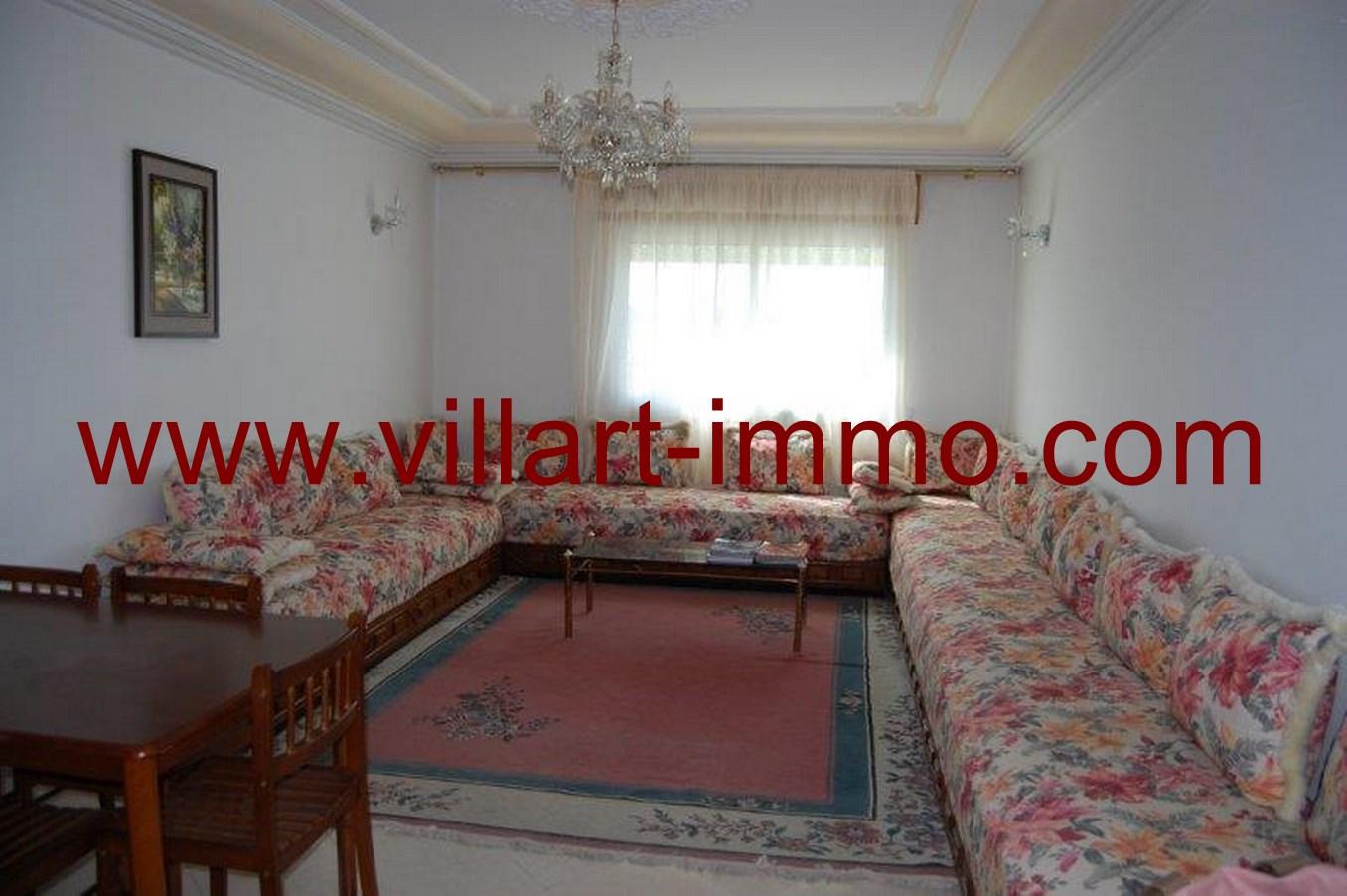 Superbe appartement meubl louer dans une zone tr s for Location appartement meuble