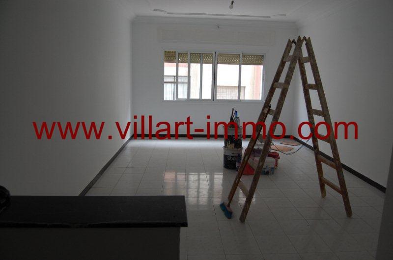 2-Alquiler-Apartamento-Centro-Tánger-Sin Amoblado-Salón'-L799-Villart immo