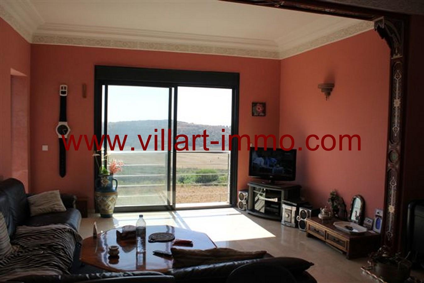 2-Vente-Appartement-Assilah-Autres-Salon 1-VA49-Villart Immo