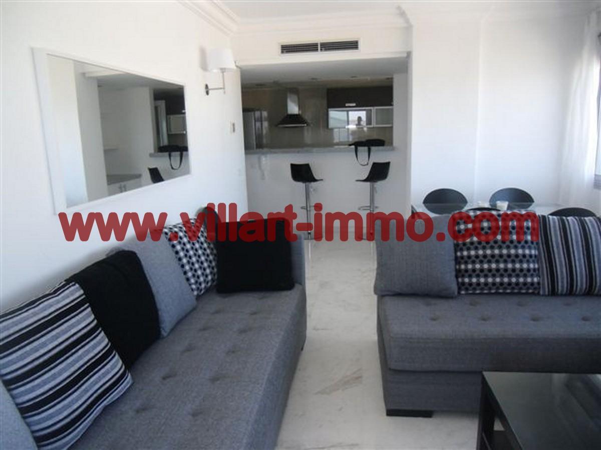 2- Vente -Appartement-Tanger-Maroc–Centre-De-Ville-Salon 2-VA64-Villartimmo