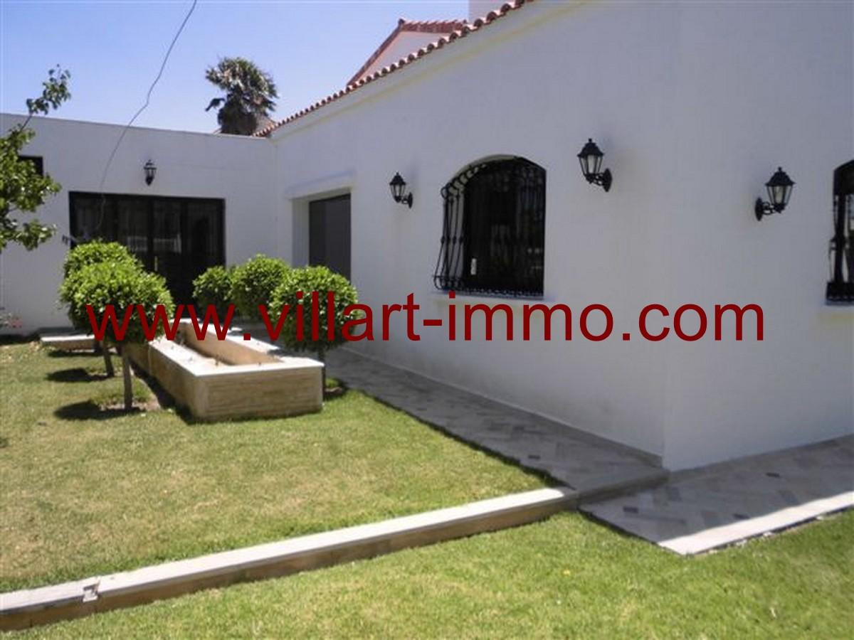 2-Vente-Villa-Tanger-Malabata-Jardin 2-VV140-Villart Immo