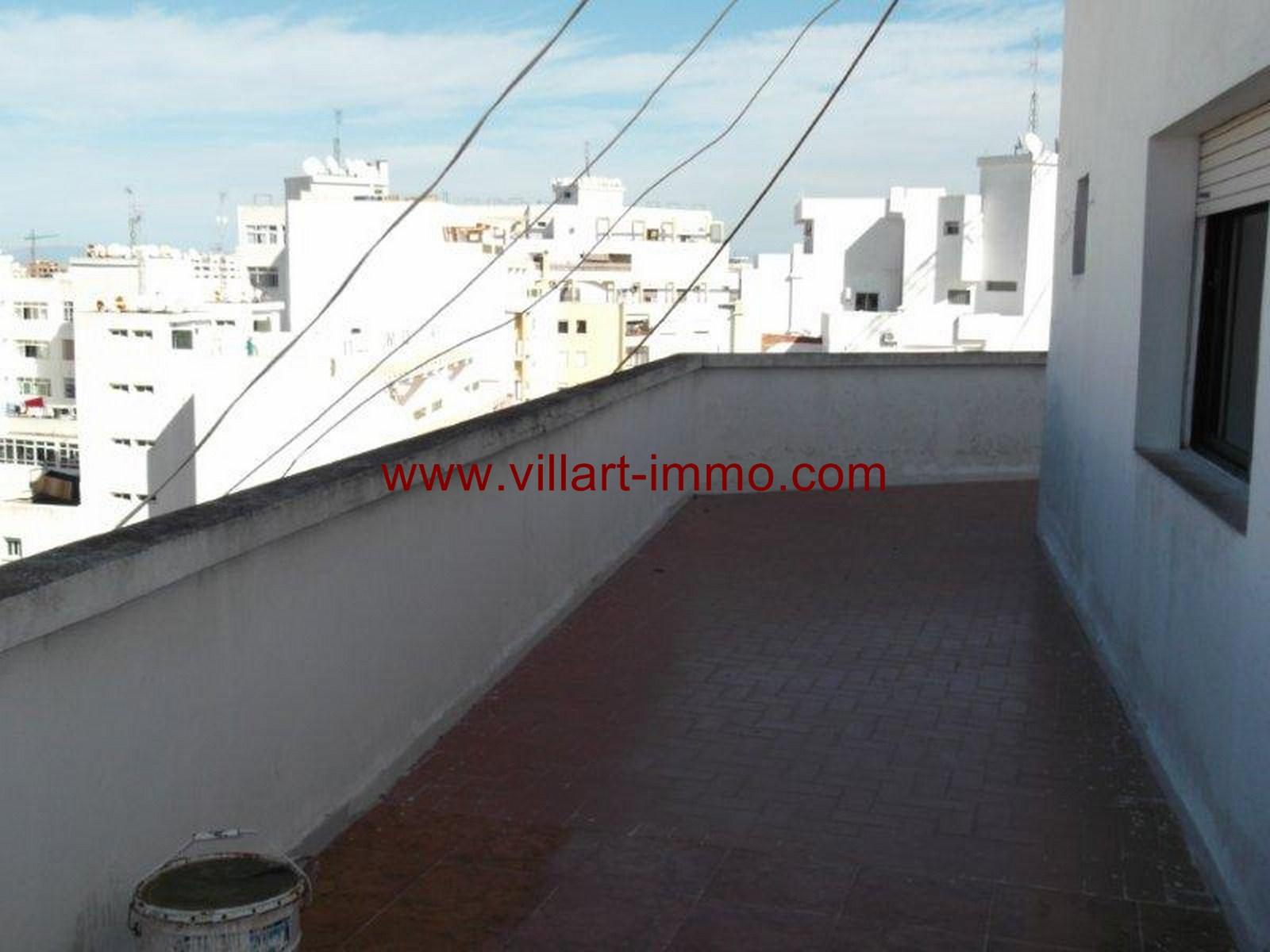 2- Vente -appartement-Tanger-Maroc–Centre-De-Ville-Terrasse 2 -VA91-Villartimmo