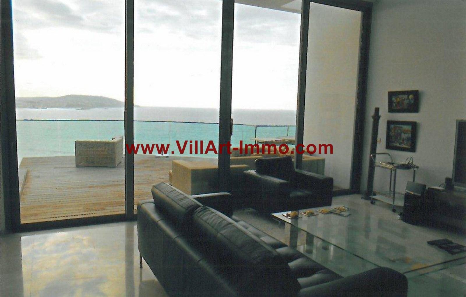 3-Location-Appartement-Meublé-Tanger-Salon 2-L749-Villart immo