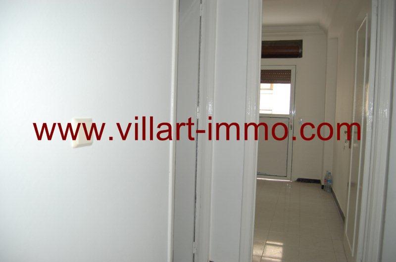 3-Alquiler-Apartamento-Centro-Tánger-Sin Amoblado-Corredor-L799-Villart immo