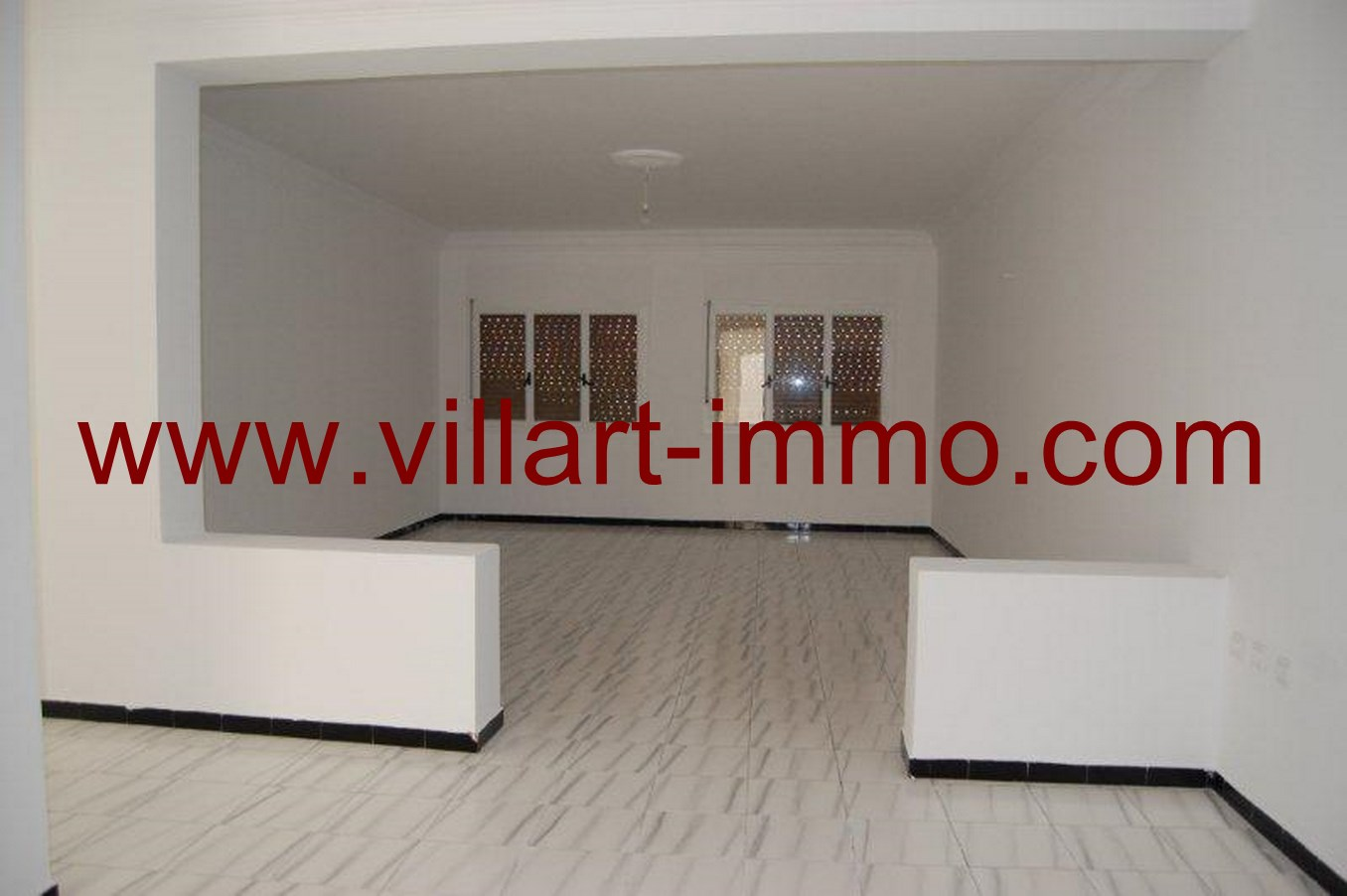 3-Location-Appartement-non meublé-Tanger-salon-L615-Villart-immo
