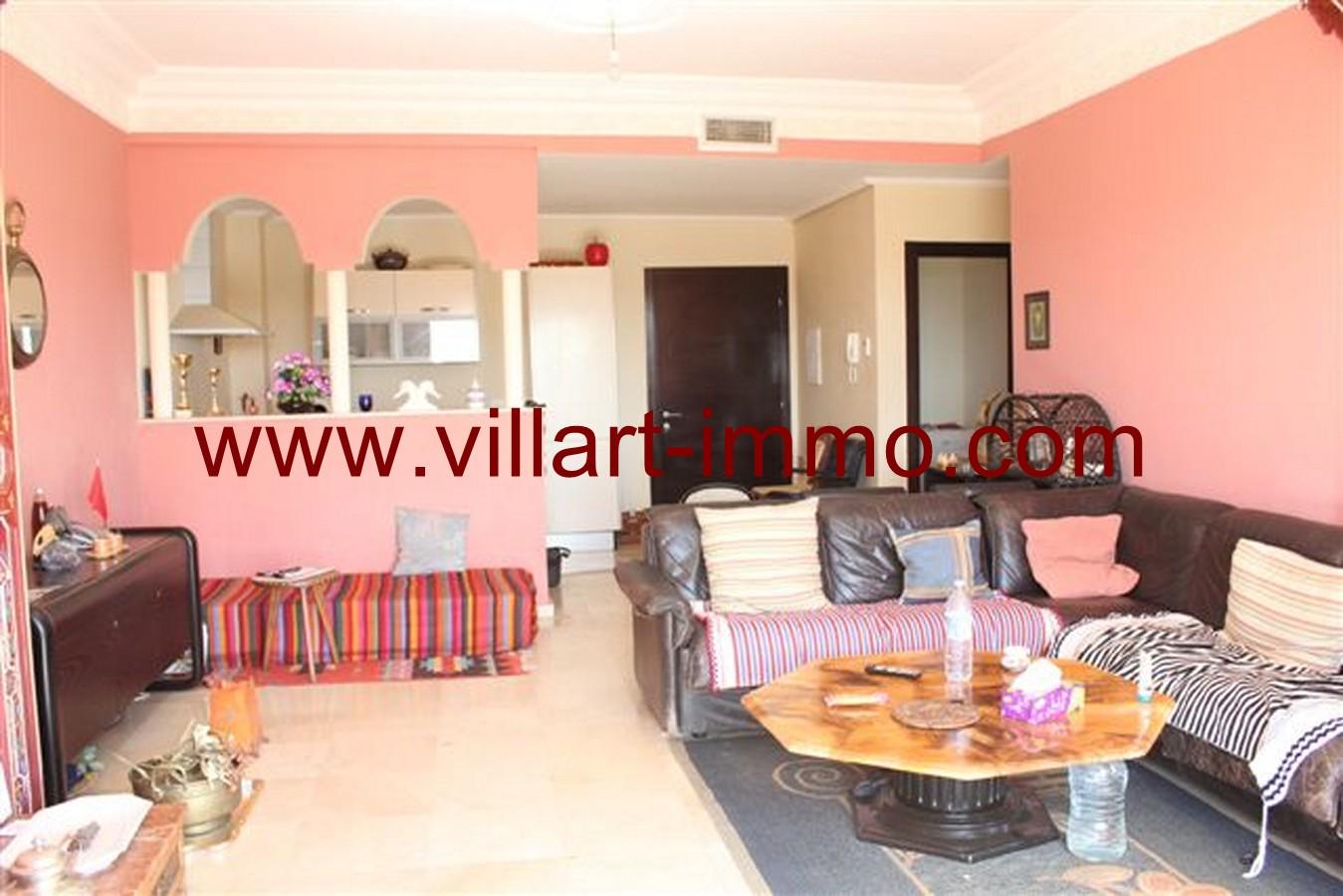 3-Vente-Appartement-Assilah-Autres-Salon 2-VA49-Villart Immo