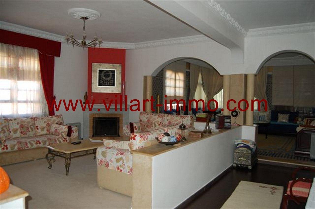 3-Vente-Villa-Tanger-La Montagne-Salon 3-VV235-Villart Immo