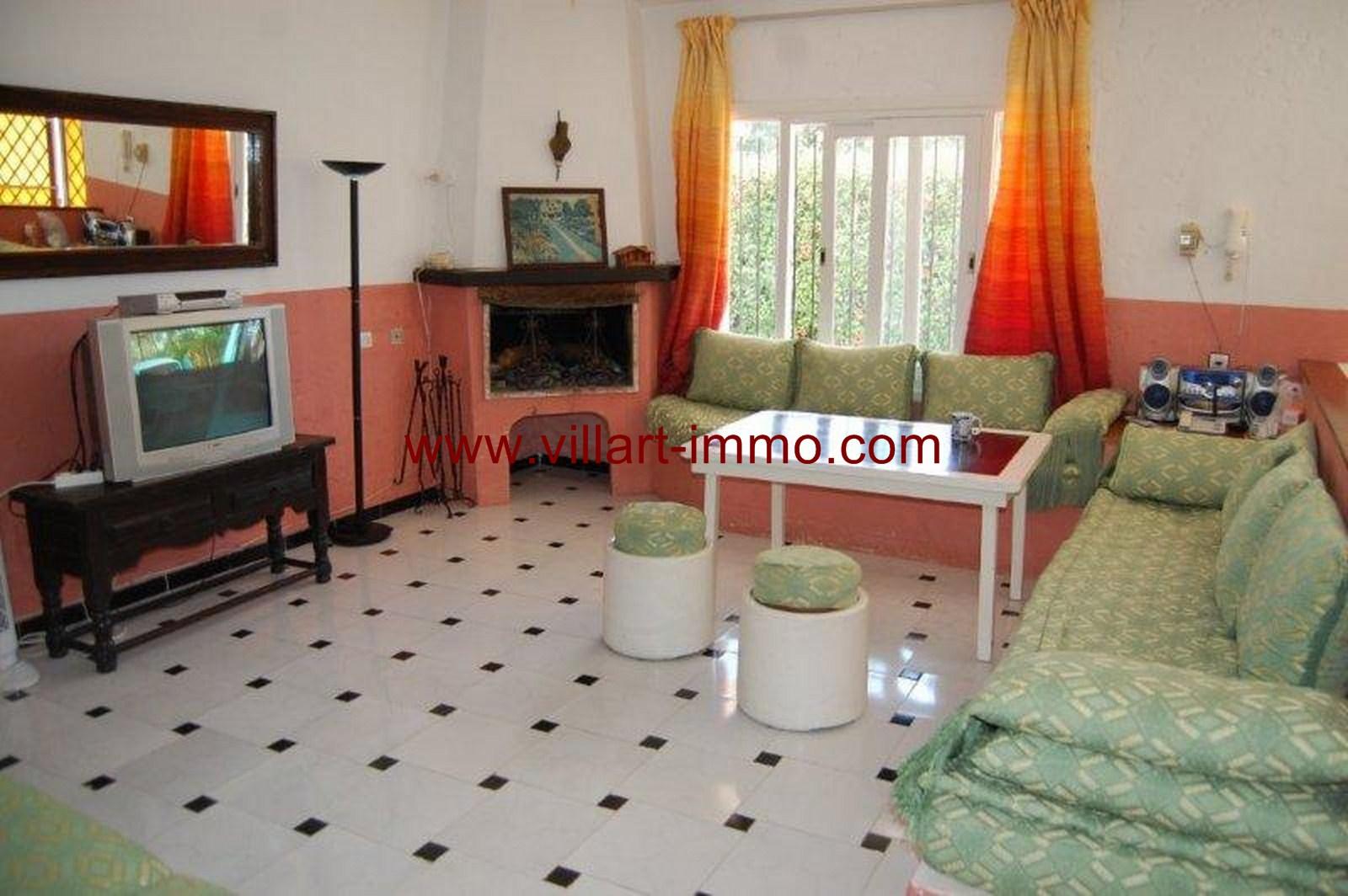 3-Vente-Villa-Tanger-Malabata-Salon 2-VV36-Villart Immo