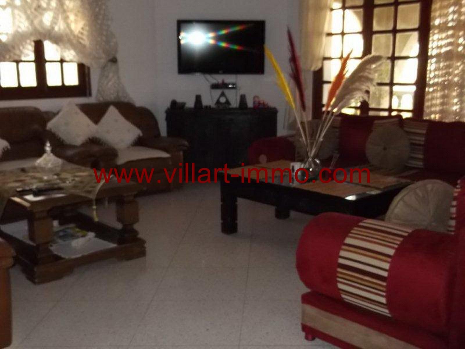 3-Vente-Villa-Tanger-Malabata-Salon 3-VV159-Villart Immo