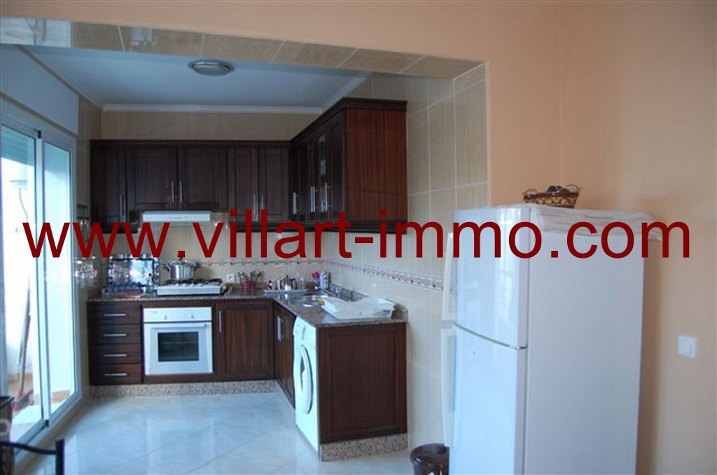 4-Location-Appartement-Meublé-Marchan-Tanger-Cuisine-L797-Villart immo