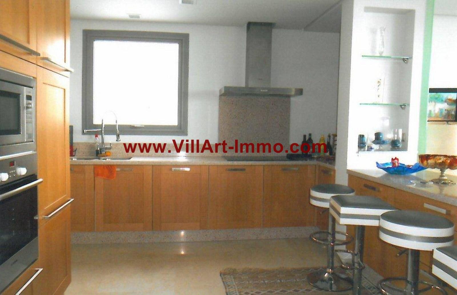 4-Location-Appartement-Meublé-Tanger-Cuisine-L749-Villart immo