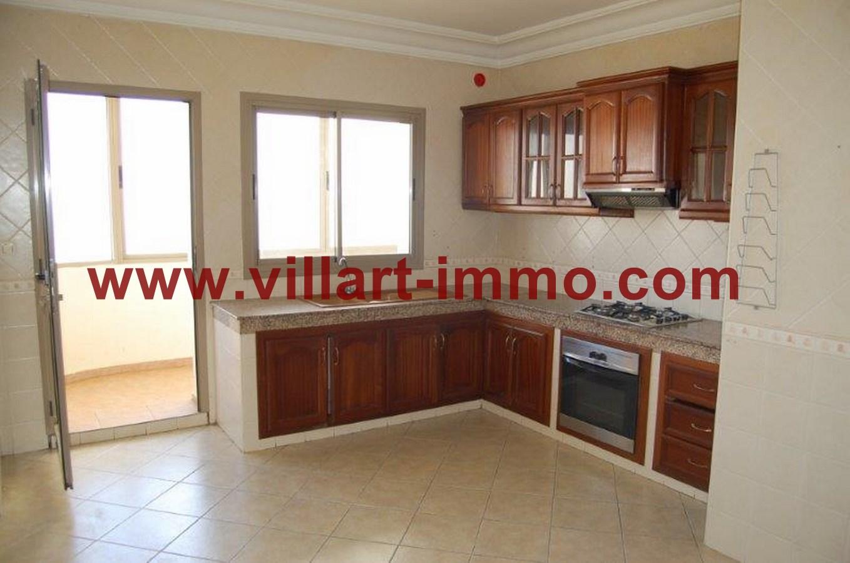 4-Location-Appartement-Non meublé-Tanger-Cuisine -L716-Villart immo