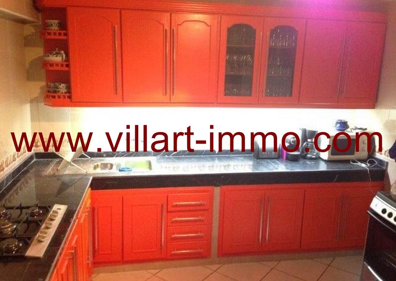 ... 4 Location Appartement Meuble Tanger Cuisine L624 Villart  ...