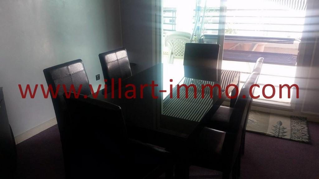4-Location-Tanger-Appartement Meublé-Salle à manger-Playa-L1025-Villart