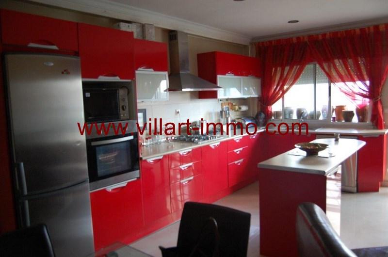 4-location-Appartement-Non Meublé-Tanger-Nejma-cuisine-L1022-Villart Immo-Maroc