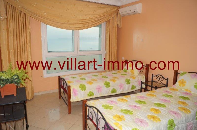 Appartement louer meubl tanger au maroc avec vue sur for Chambre de commerce tanger