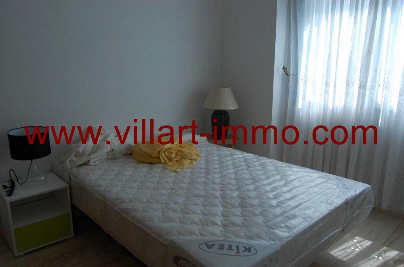 5-Location-Appartement-meublé-Tanger-chambre 1-L678-Villart-immo