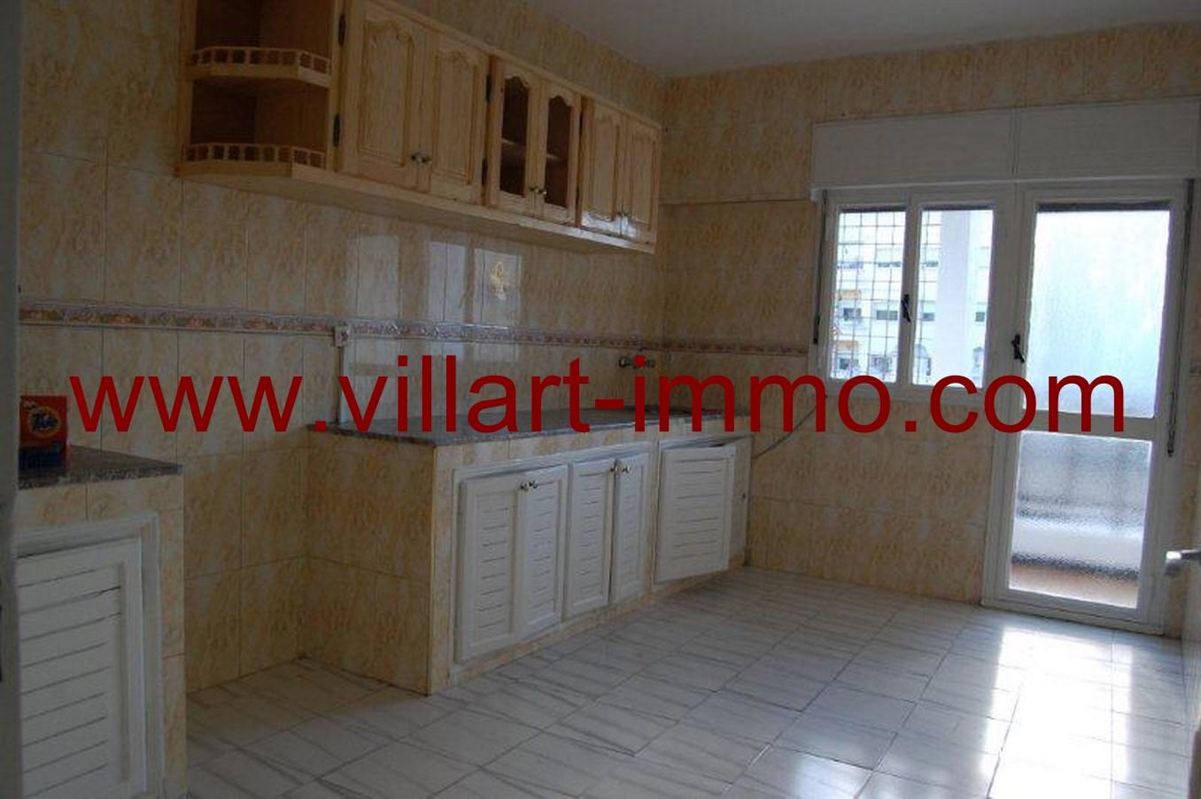 5-Location-Appartement-non meublé-Tanger-cuisine-L615-Villart-immo