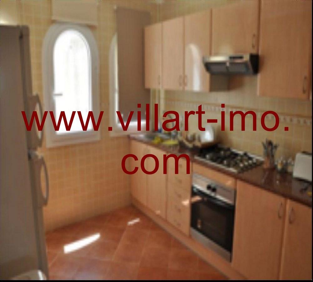 5- Vente -Appartement-Tanger-Maroc–Malabata- Cuisine-VA50-Villartimmo