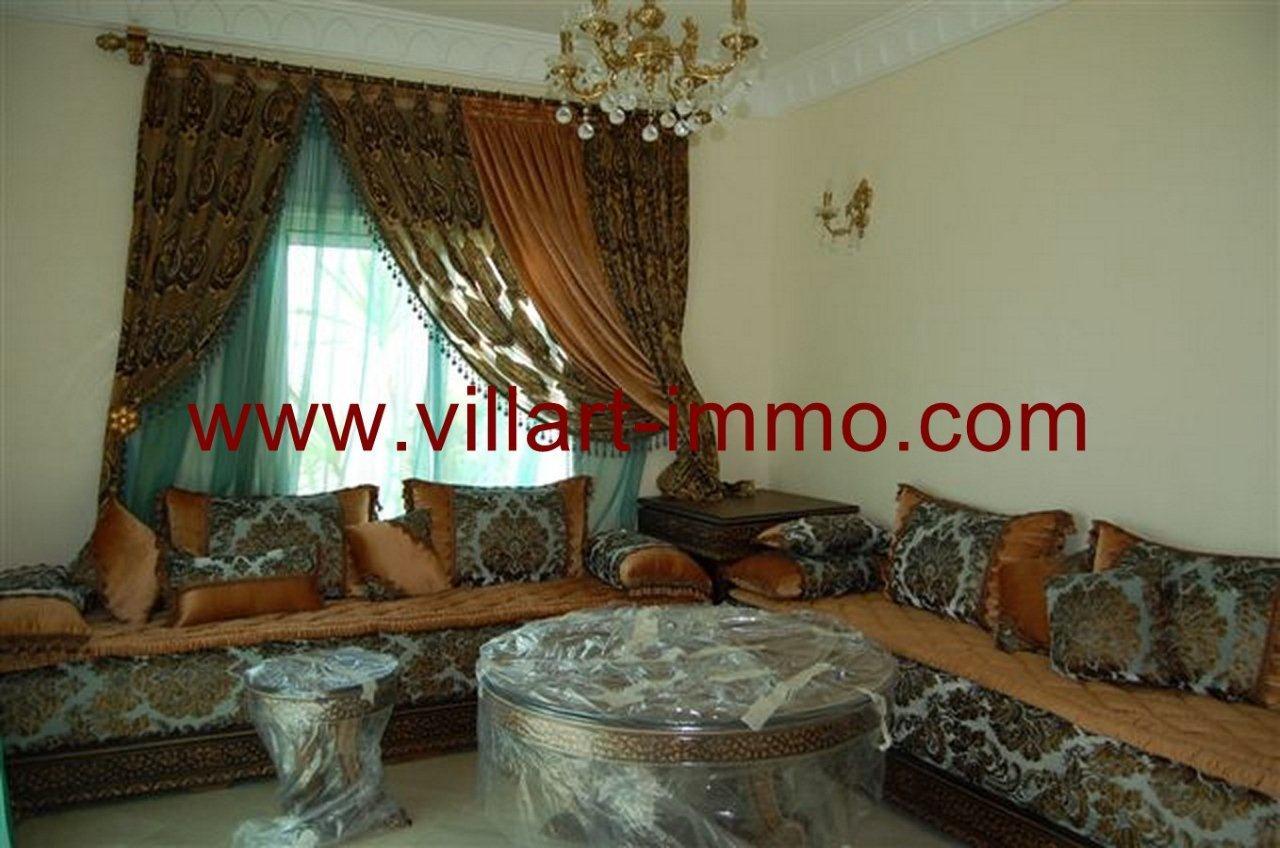 5-Vente-Villa-Tanger-Malabata-Salon 2-VV236-Villart Immo