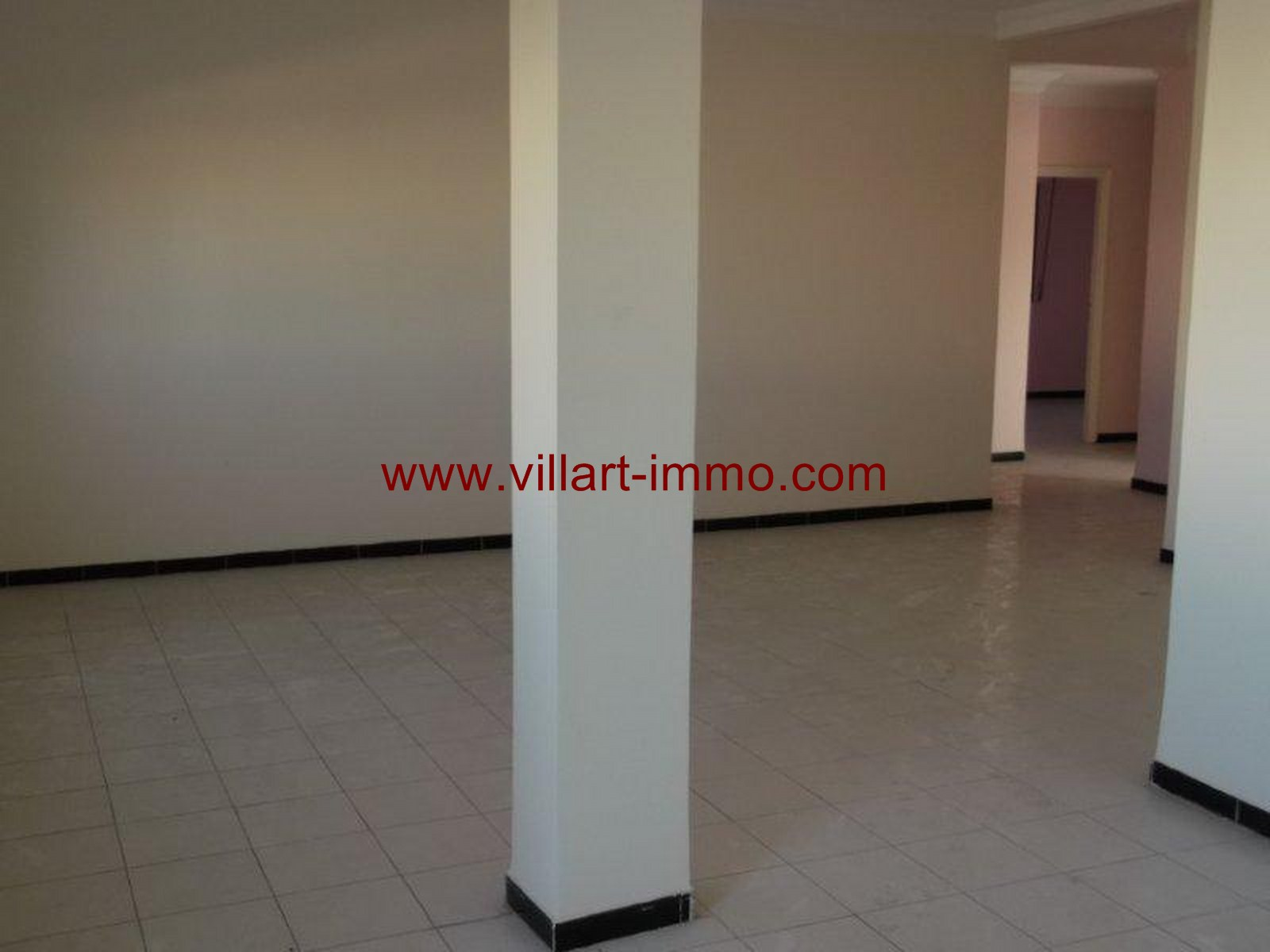 5- Vente -appartement-Tanger-Maroc–Centre-De-Ville-Chambres 2 -VA91-Villartimmo