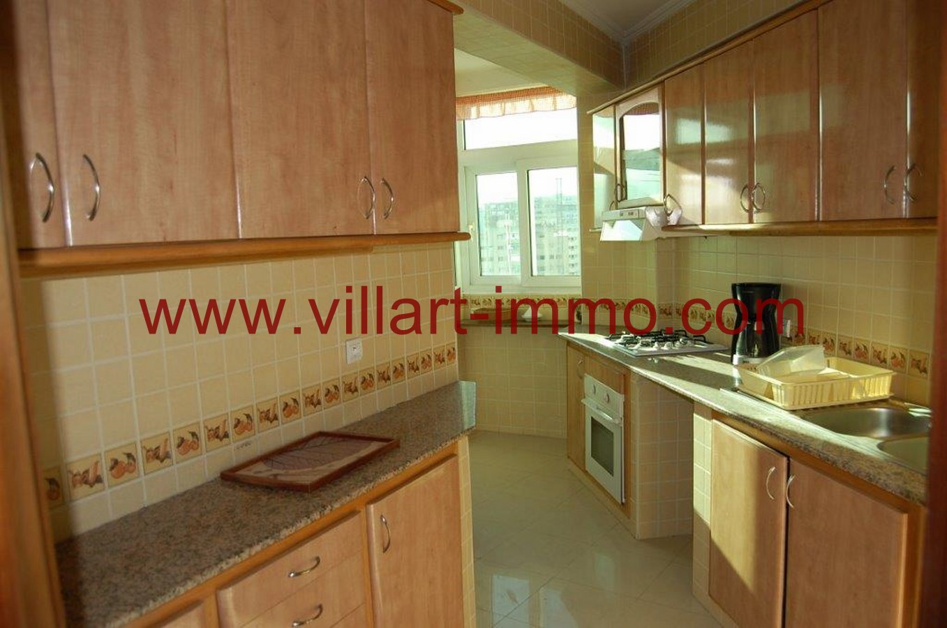 6-Location-Appartement-Non meublé-Tanger-Cuisine-L718-Villart immo