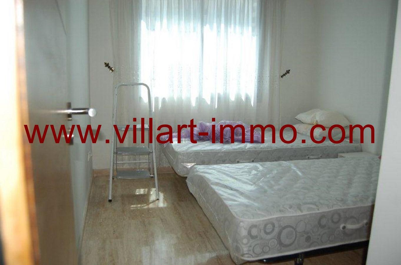 6-Location-Appartement-meublé-Tanger-chambre 2 -L678-Villart-immo