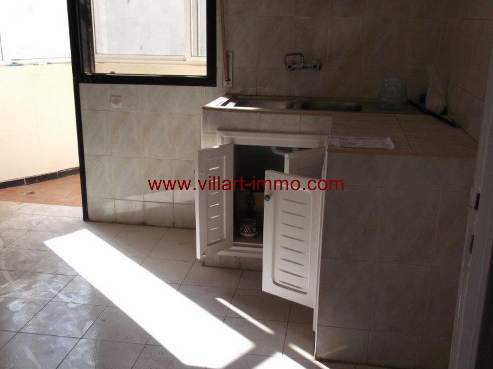6- Vente -appartement-Tanger-Maroc–Centre-De-Ville-Cuisine -VA91-Villartimmo