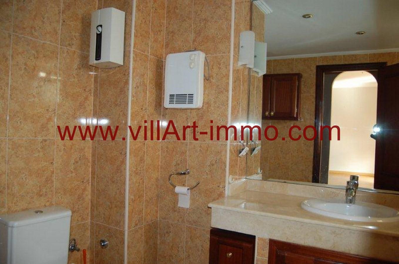 7-Location-Appartement-Non meublé-Tanger-Salle de bain-L734-Villart immo