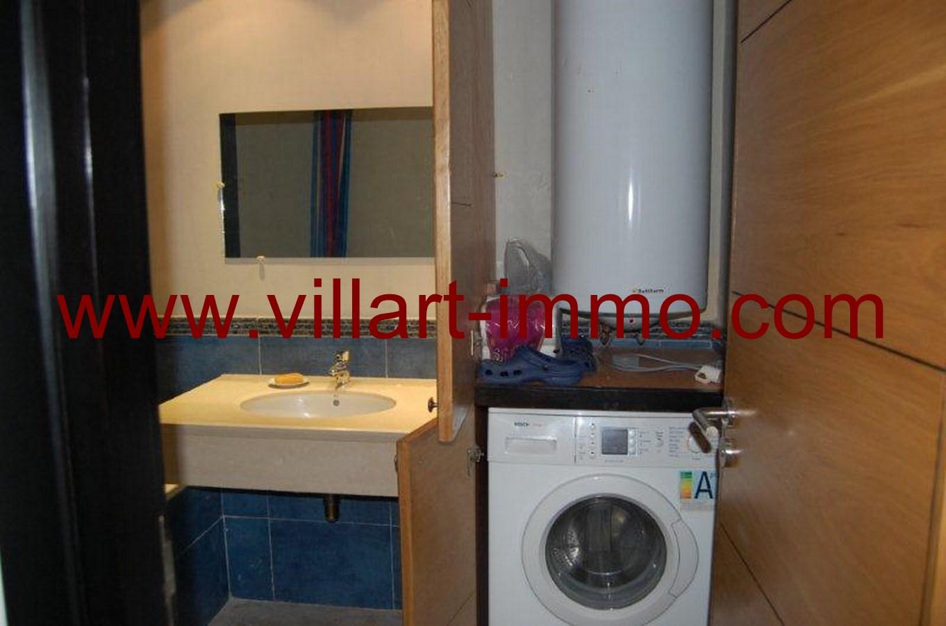 7-Location-Appartement-meublé-Tanger-salle de bain -L678-Villart-immo
