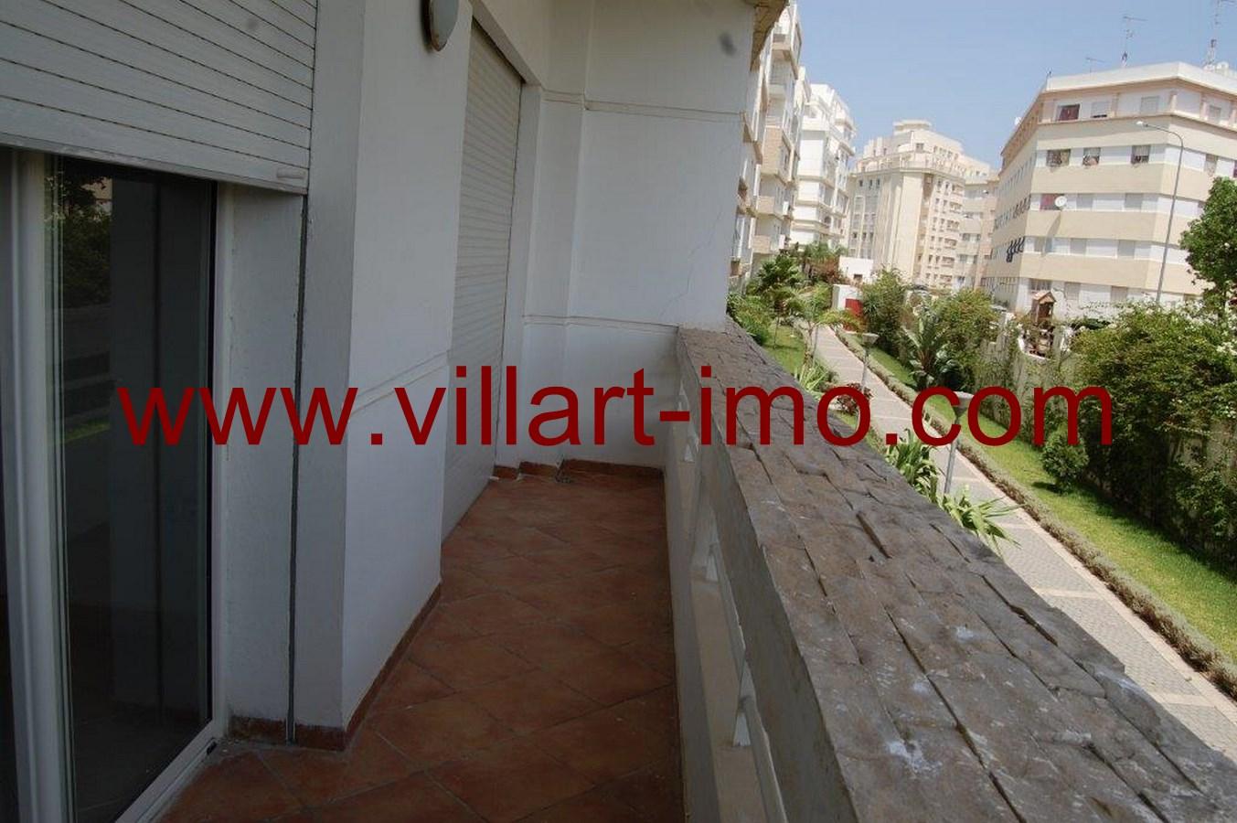 7-Location-Tanger-Appartement-Non meublé-Route de Rabat-L483-Balcon