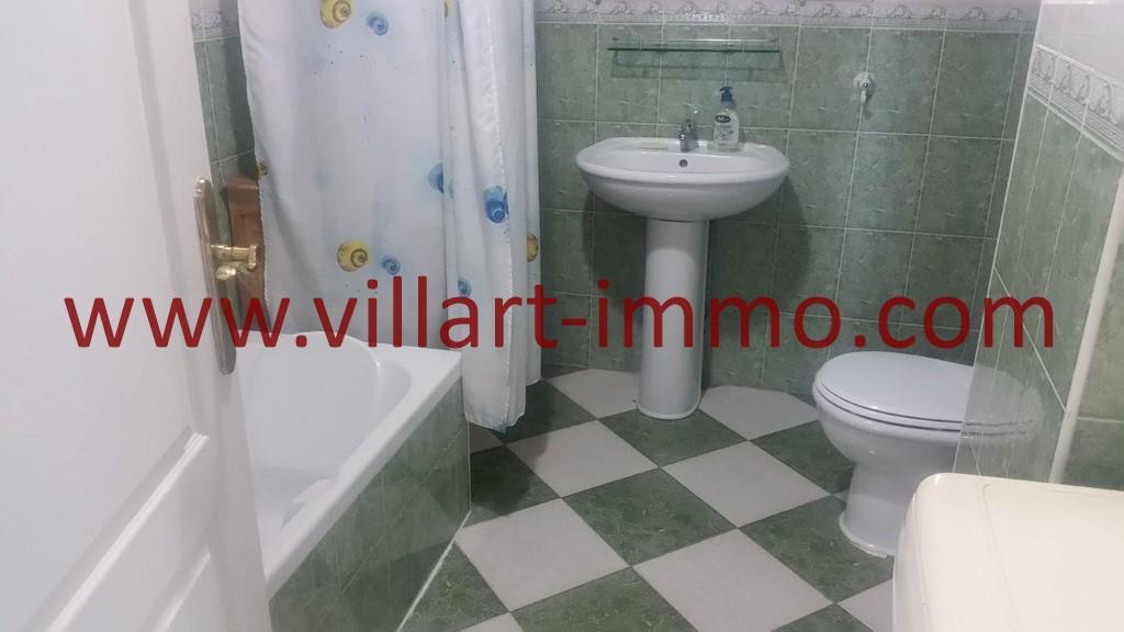 8-Location-Tanger-Appartement Meublé-Salle de bain-Playa-L1025-Villart