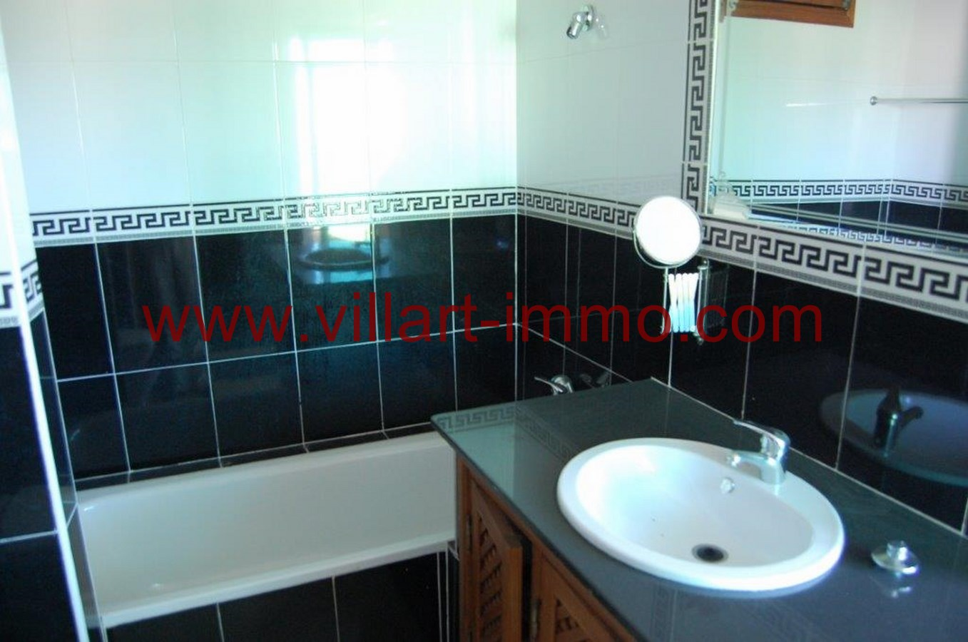 9-Location-Appartement-Non meublé-Tanger-Salle de bain-L718-Villart immo