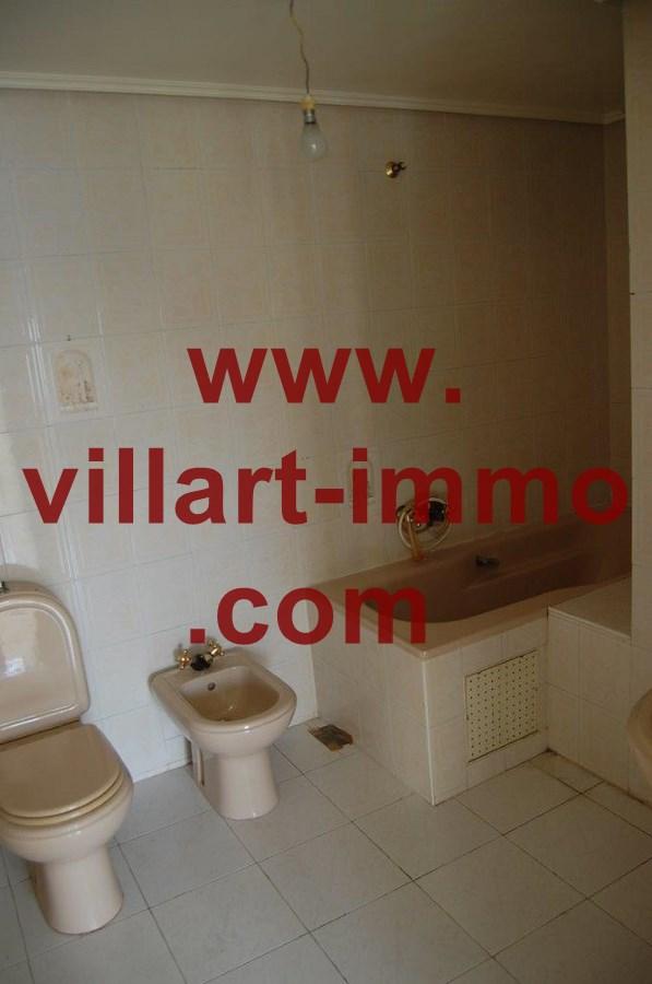 9-Location-Appartemnt-Non meublé-Tanger-Salle de bain 2-L731-Villart-immo