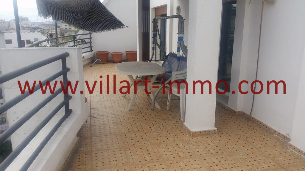 9-Location-Tanger-Appartement Meublé-Terrasse-Playa-L1025-Villart