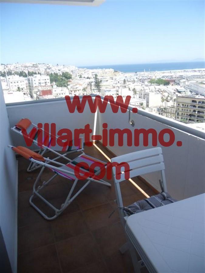 9- Vente -Appartement-Tanger-Maroc–Centre-De-Ville-Terrasse 2-VA64-Villartimmo