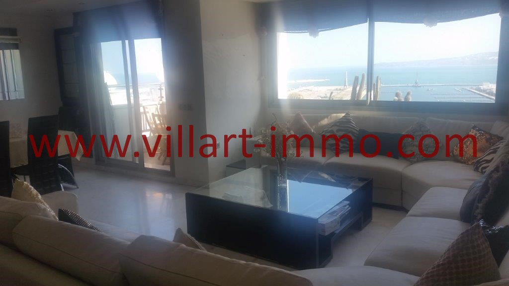 1-For sale-Tangier-Apartment-City centre-living room-VA612