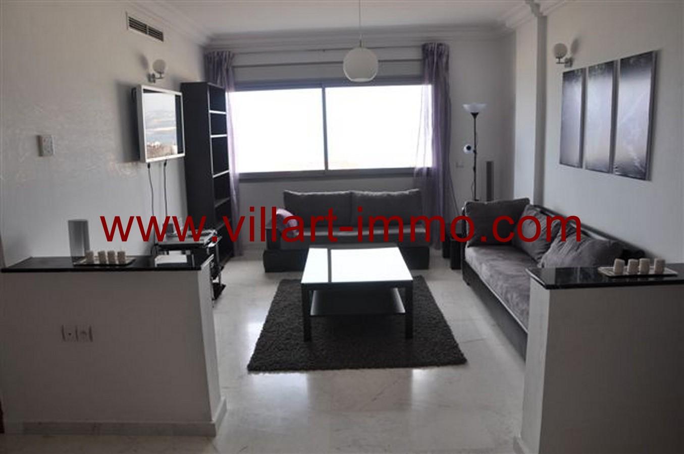 1-Location-Appartement-Meublé-Tanger-Centre ville-Salon-L131-Villart immo