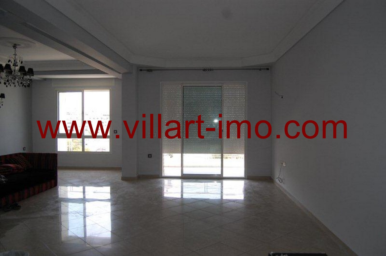 1-Location-Appartement-Non meublé-Tanger-Iberia-Salon-L484-Villart immo