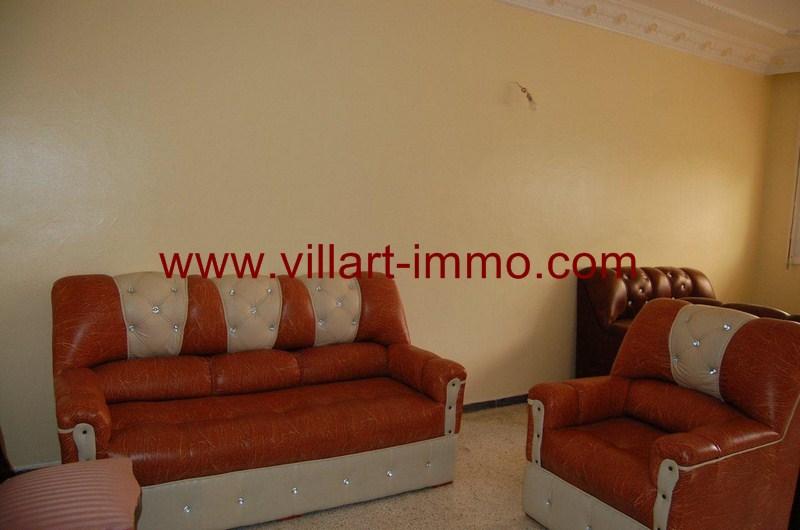 1-Location-Appartement-Non meublé-Tanger-Malabata-Salon-L983-Villart immo